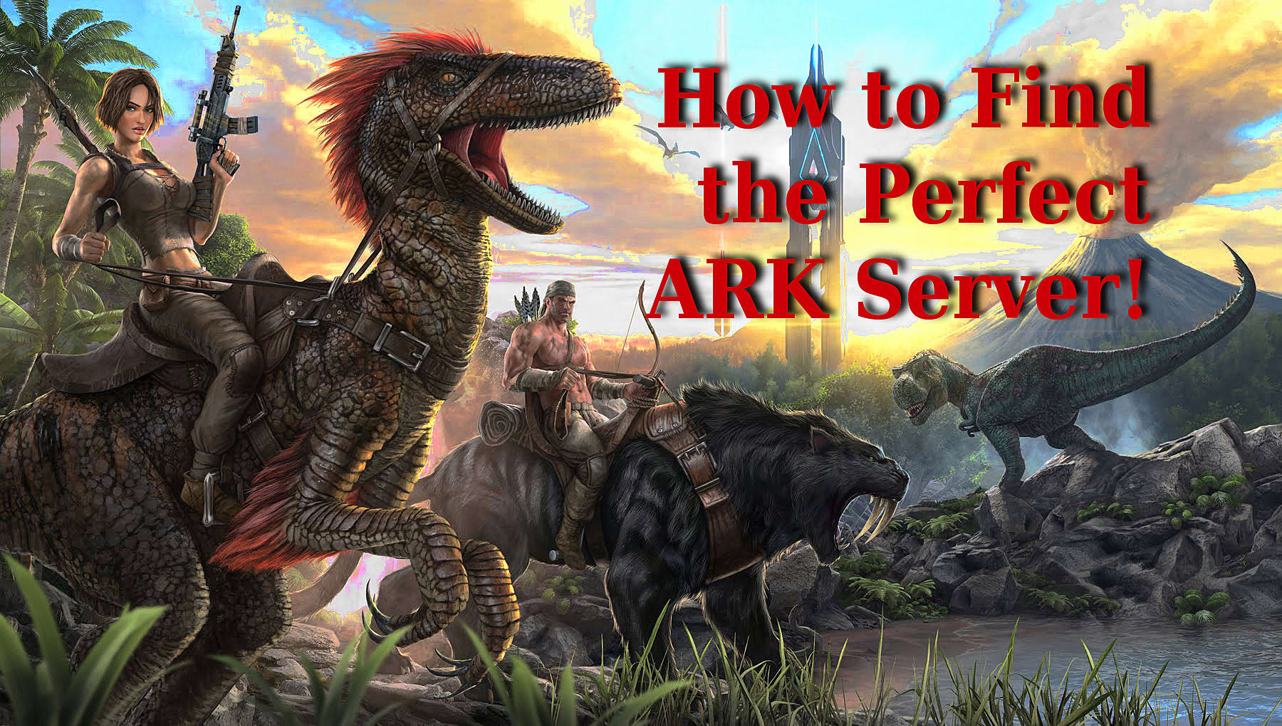 Finding The Perfect Server In ARK: Survival Evolved (and My Top 5 Picks)