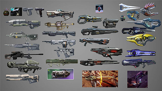 halo 5 guardians guide all free secret weapons locations