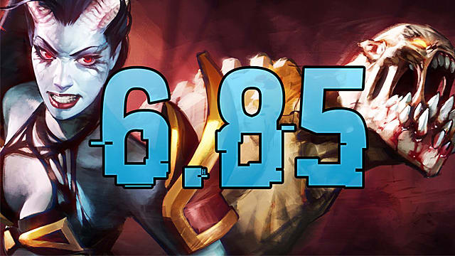 Dota 2 patch 6. 85 out now, brings major changes, revised home.