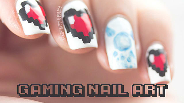 Top 10 Gaming Nail Art