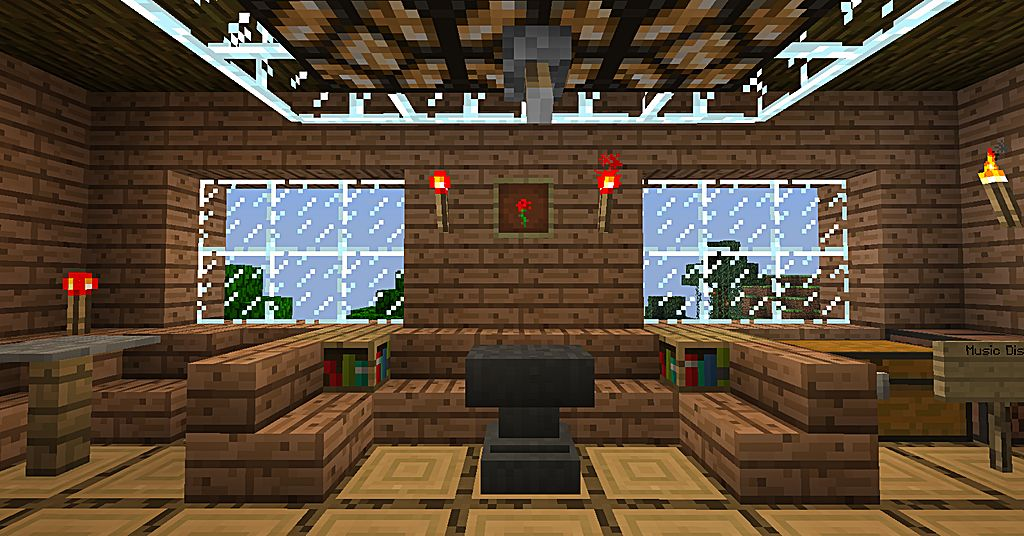 Bedroom Wallpaper Minecraft