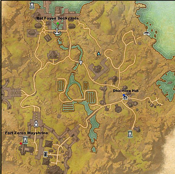 Elder Scrolls Online Skyshard Locations Bal Foyen