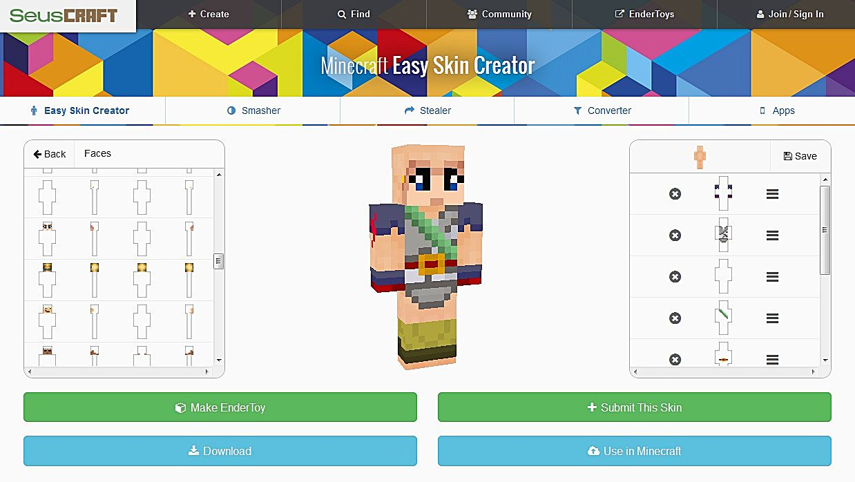 minecraft skin editor download windows 10