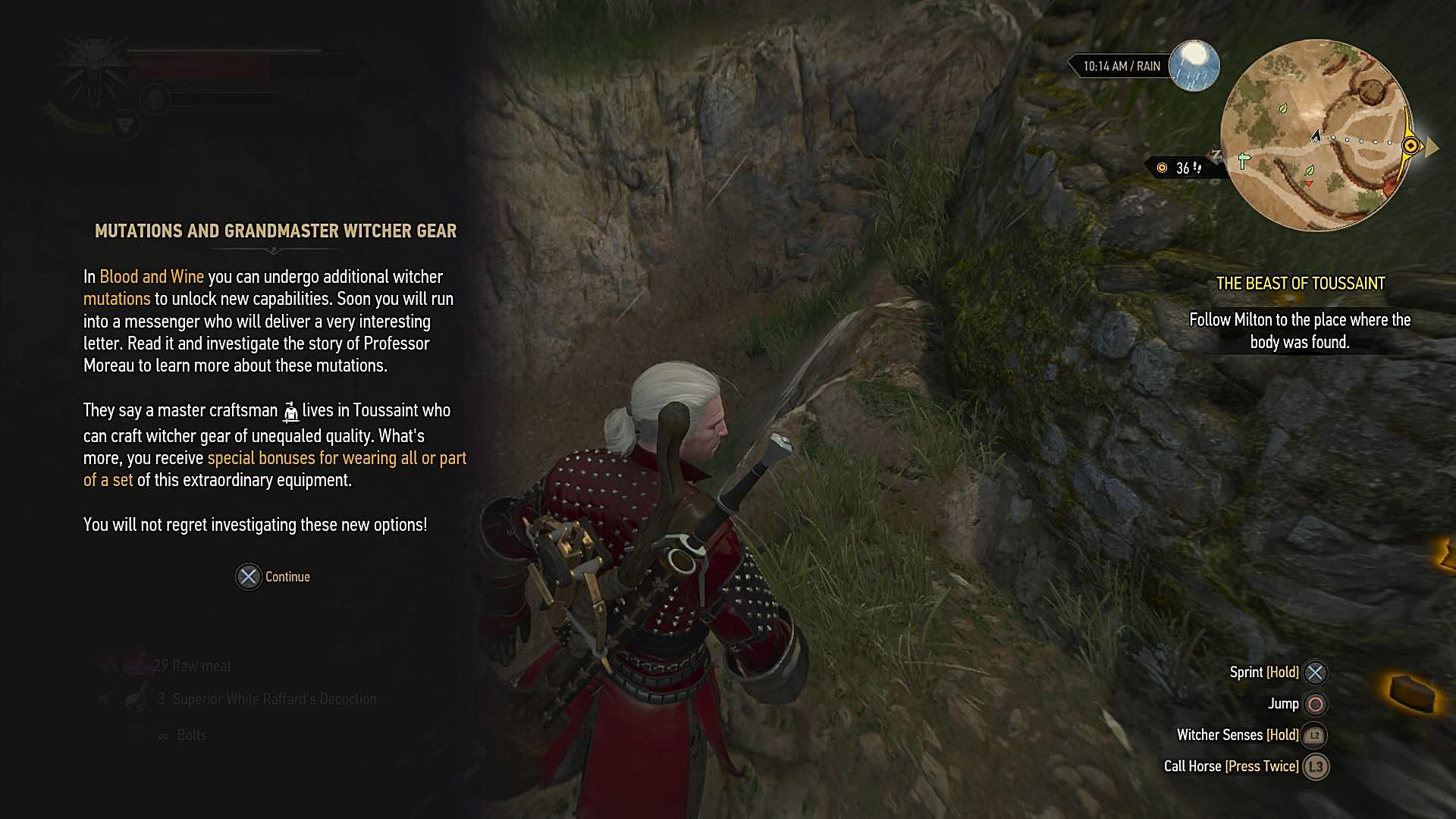 Guide to Getting Started and The Grandmaster: The Witcher 3 Blood