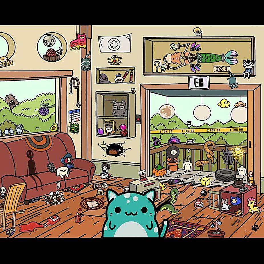Skinny living room