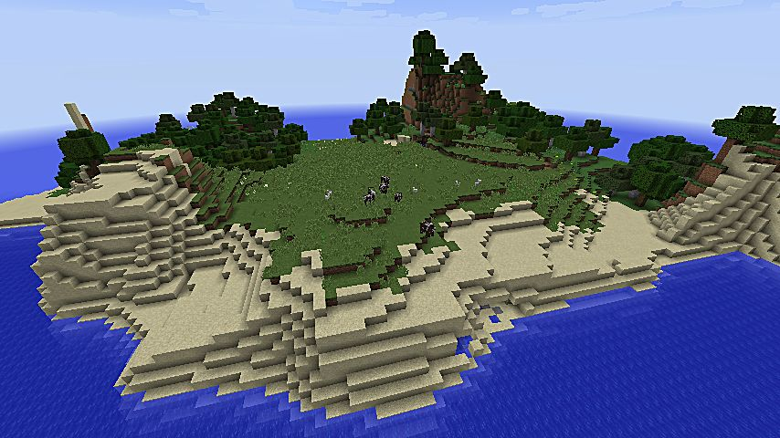 Awesome Island Minecraft Map