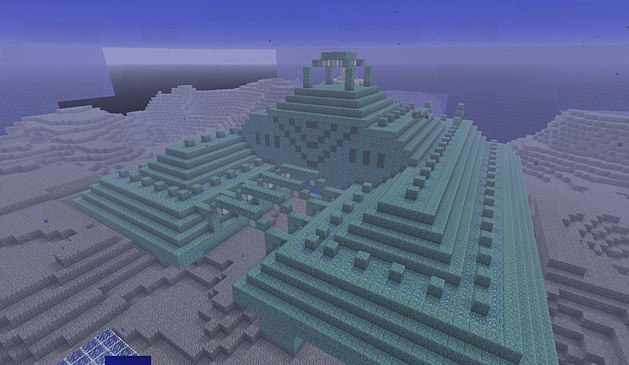 Майнкрафт подводная крепость картинки