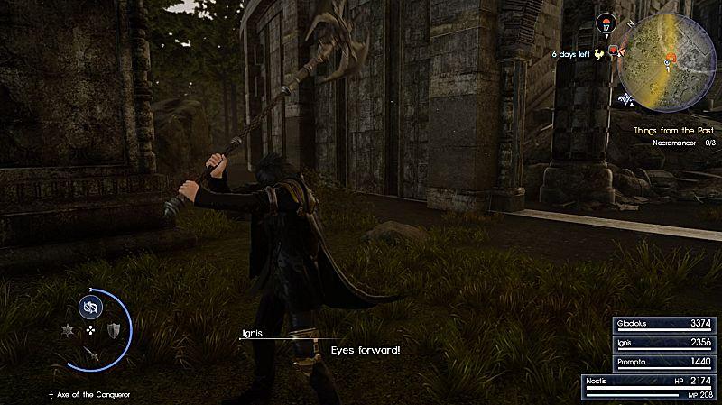 final fantasy 15 royal arms locations