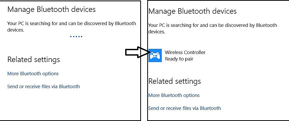 Quick guide to using your PS4 remote wirelessly on your PC