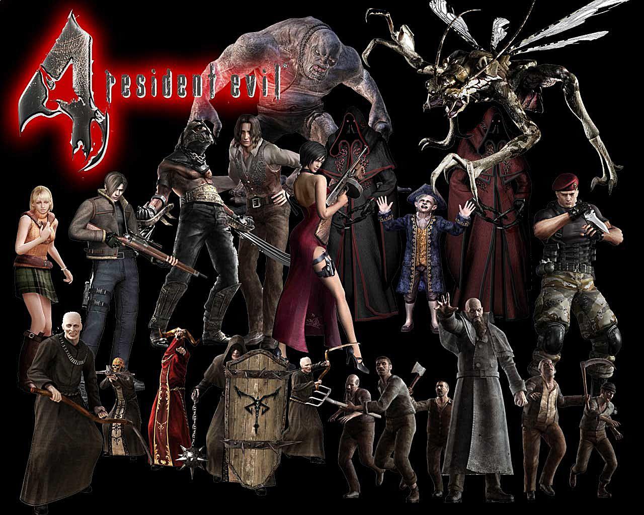 all resident evil 4 bosses