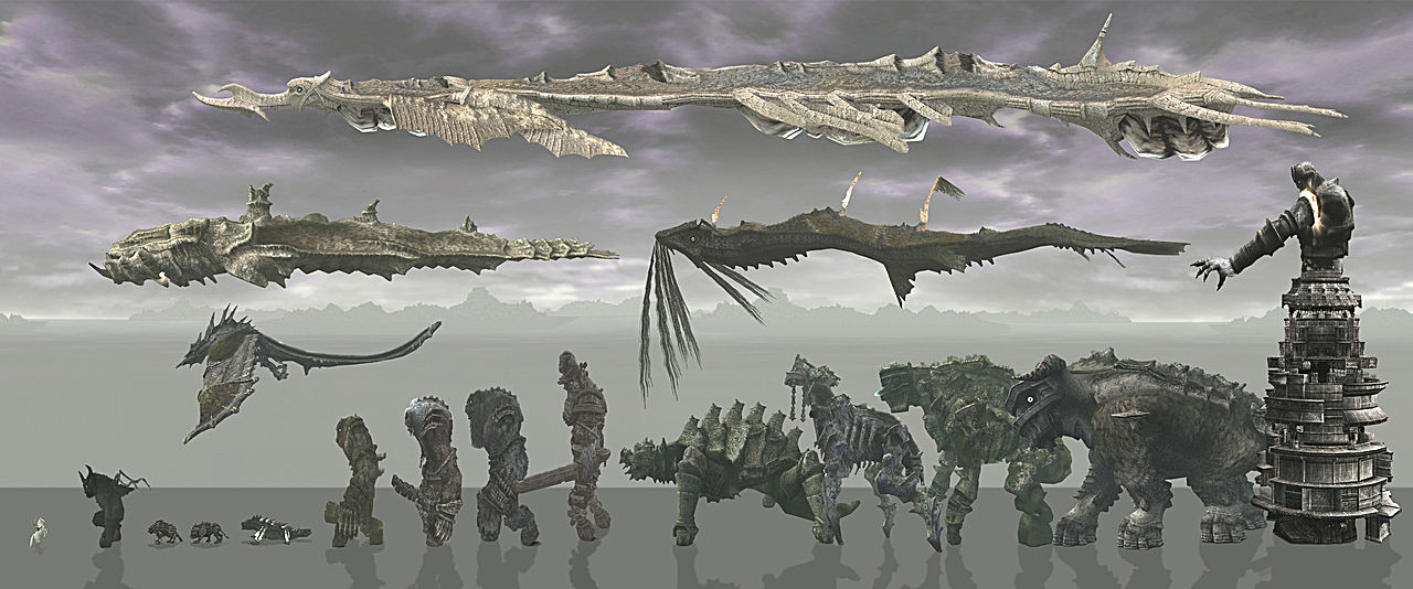 Its Stark But Starkness Is One Of The Things That Makes Game So Magical And Shadow Colossus In More Ways Than Just Lack