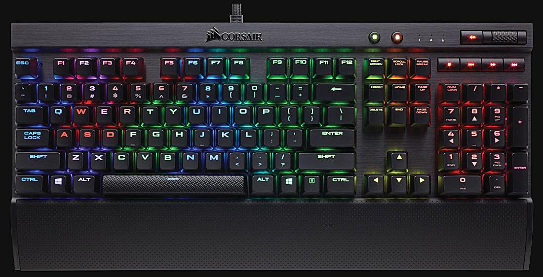Corsair K70 RGB Rapidfire Keyboard Review
