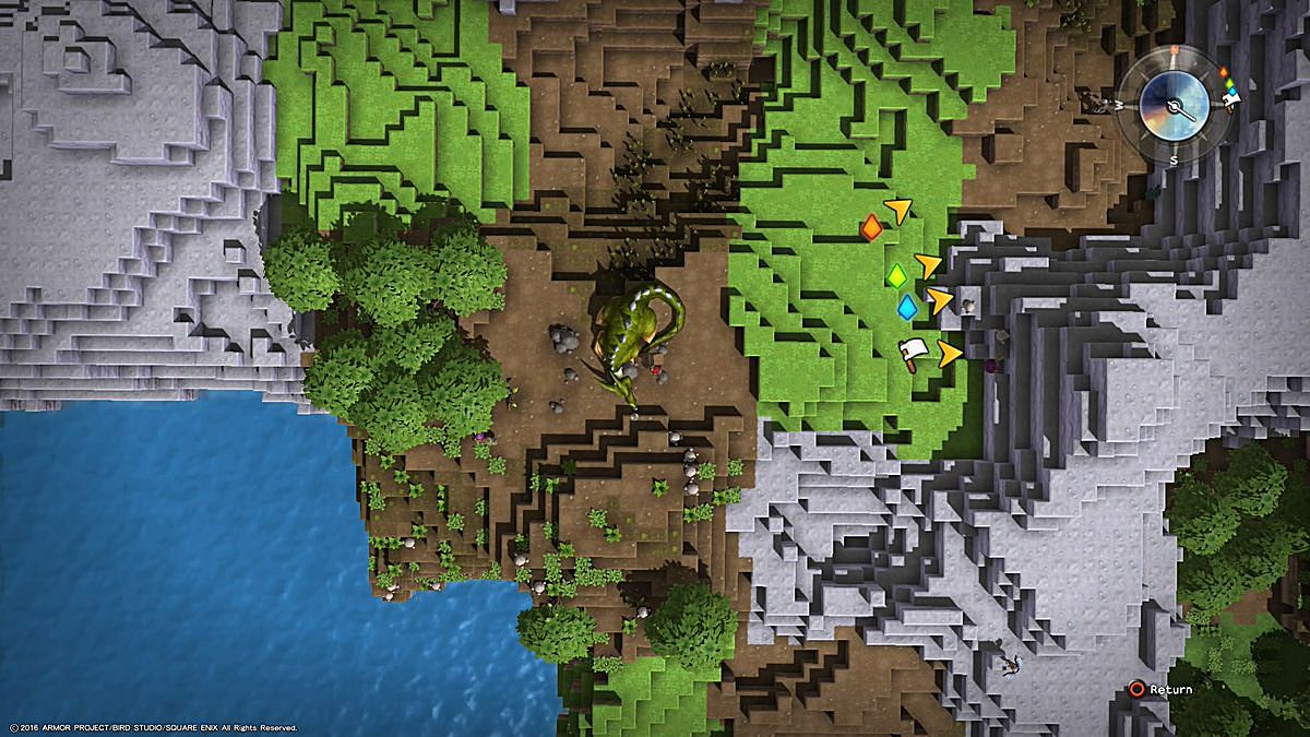 Dragon quest builders guide ultimate challenges walkthrough dragon quest builders challenges guide walkthrough chapter 1 three dragons gumiabroncs Images