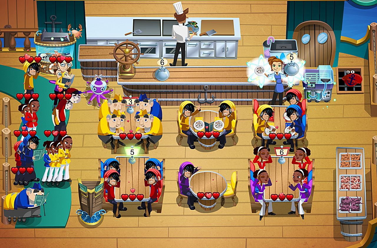 The five best time management games for ios you need to get for Diner picture