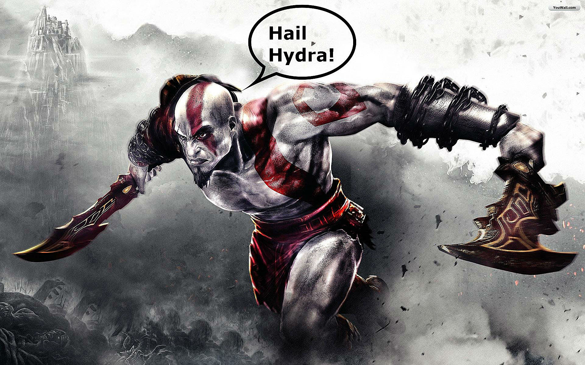 Hipster neckbeard Kratos: the end of God Of War? | God of War 4