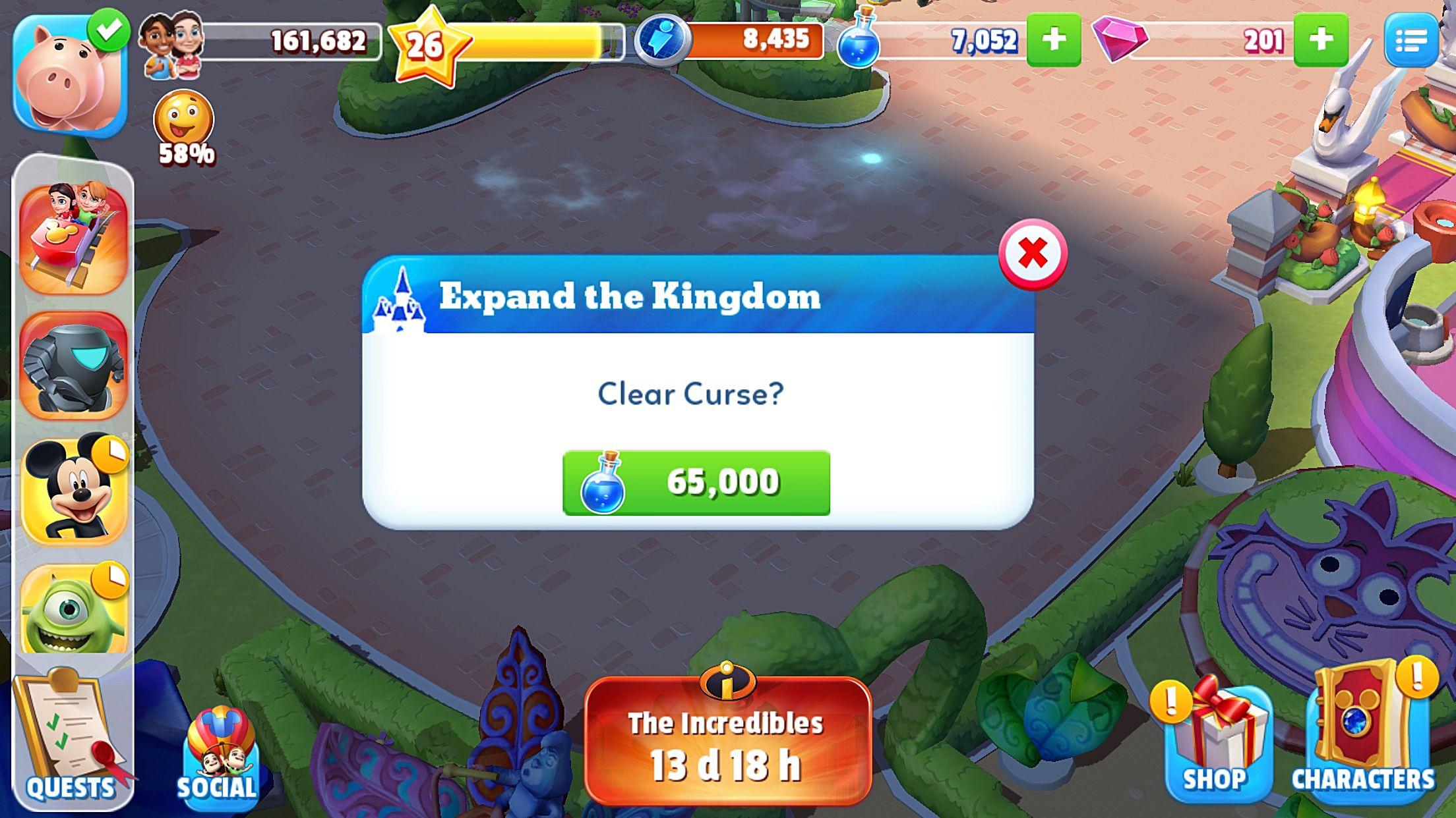 Magic Curse Ideas
