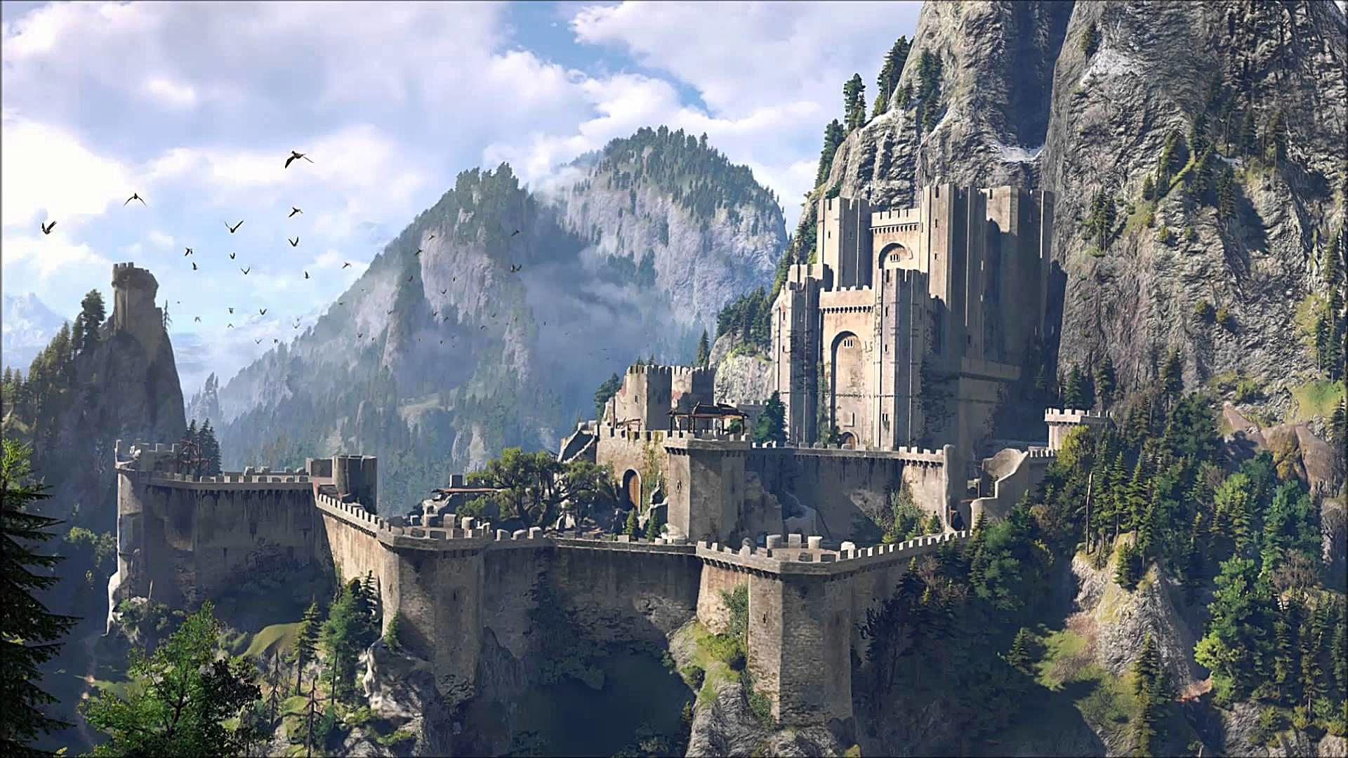 The witcher 3 battle of kaer morhen