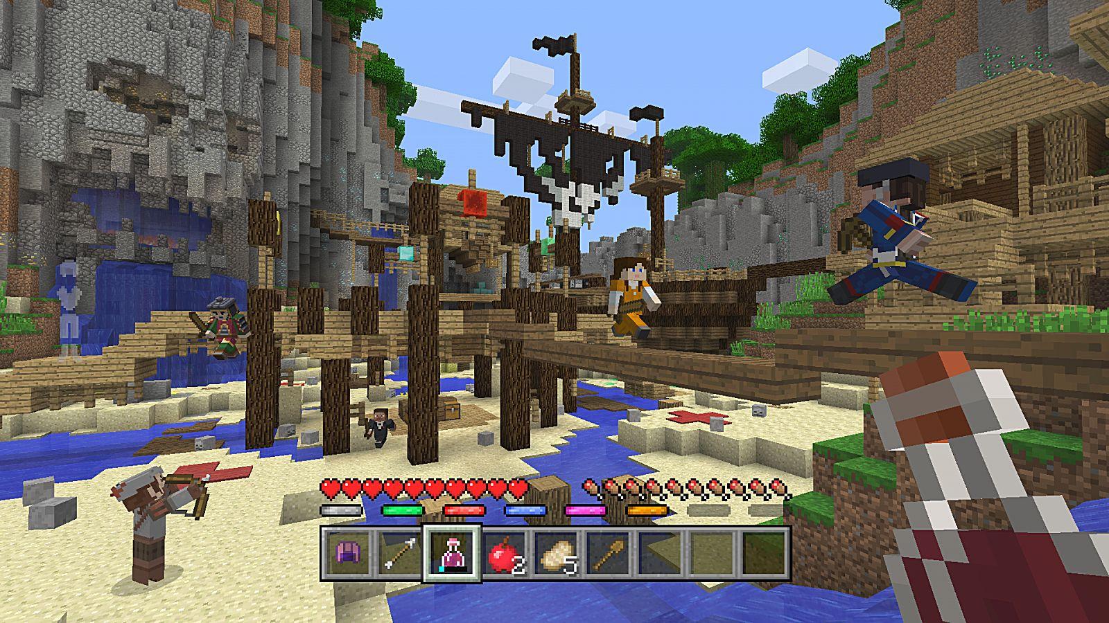 Minecraft Console Mini Games Guide Battle Mini Game Minecraft - Maps fur minecraft wii u
