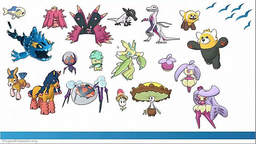 pokémon sun moon complete pokédex spoilers pokemon sun and moon