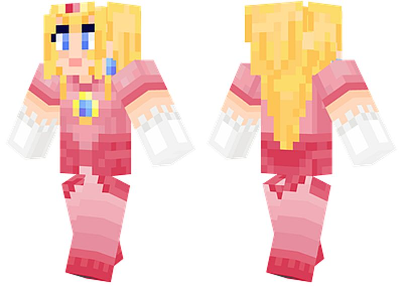 Minecraft Girl Skins That Are Awesome - Skin para minecraft pe rey