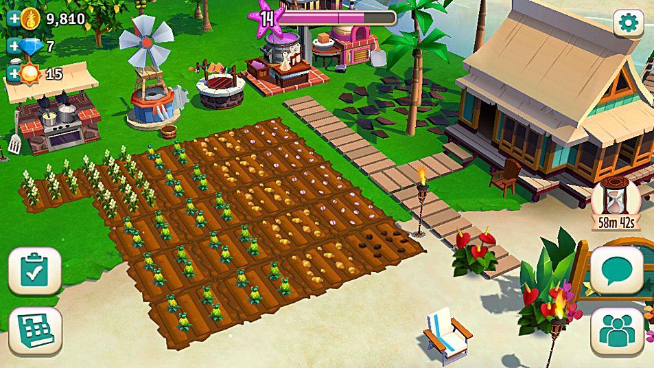скачать игру Farmville Tropic Escape img-1