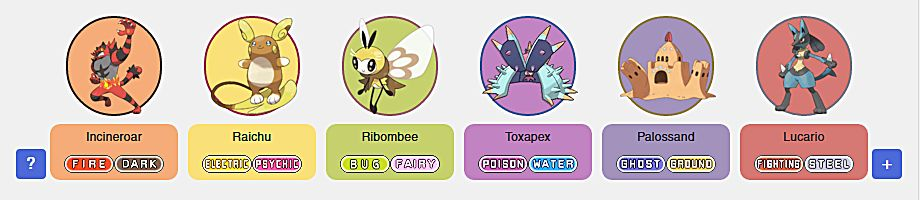 Team Builder Alola