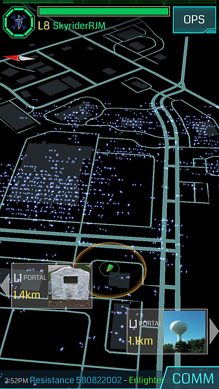 How to Use Ingress to Hunt Pokemon in Pokemon Go Ingress Game Map on ingress game help, octagon game map, ingress game table, ingress game art, code lyoko game map, trinity game map, the last of us game map, ingress game guide,