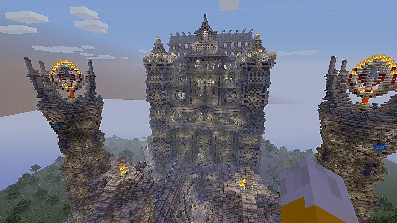 Top 10 Minecraft Mega Builds Minecraft