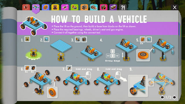 Scrap Mechanic guidebook