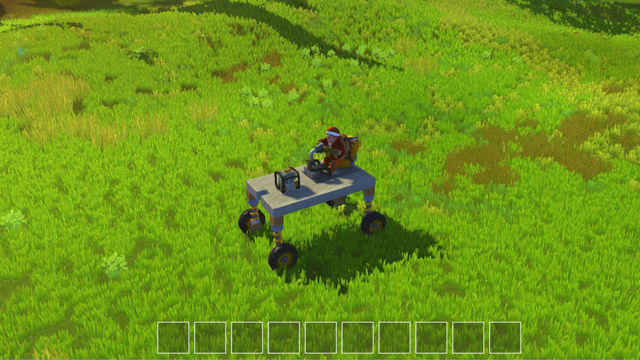 Scrap Mechanic vehicle