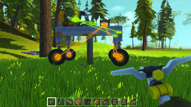 Scrap Mechanic connect tool