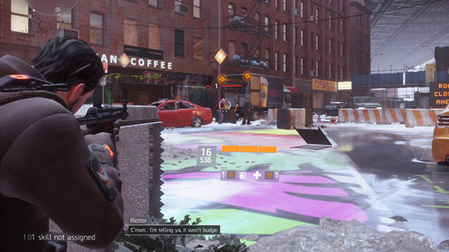 Tom Clancy's The Division combat