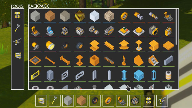 Scrap Mechanic backpack