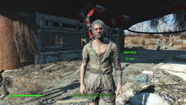 Sheffield Farmer Friendly NPC Fallout 4