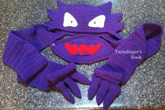Gengar Pattern Amigurumi Pokemon Pattern crochet PDF | Crochet ... | 360x538