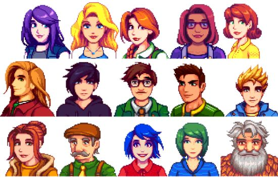 Want to beautify Stardew Valley? So do these portrait mods