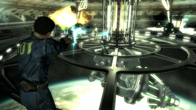 Mothership Zeta Fallout 3 DLC Gameplay