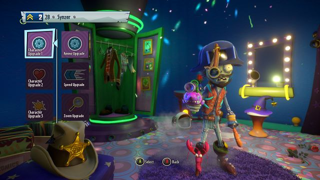 Plants vs Zombies Garden Warfare 2 Pirate character upgrades