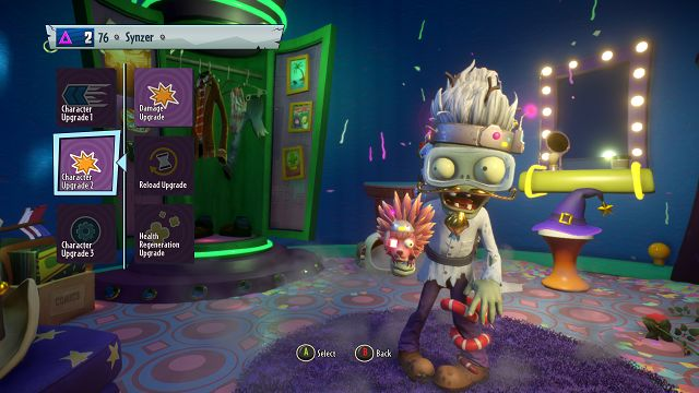 Plants vs Zombies garden warfare 2 scientist character upgrades