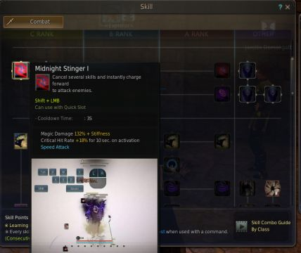 Black Desert Online Sorceress Skill Tree