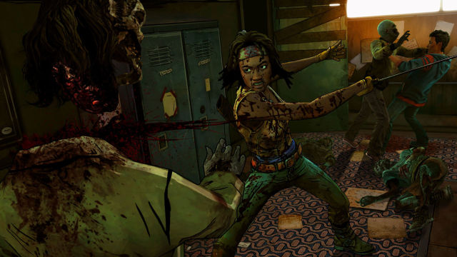Telltale Games The Walking Dead Michonne Head Chop