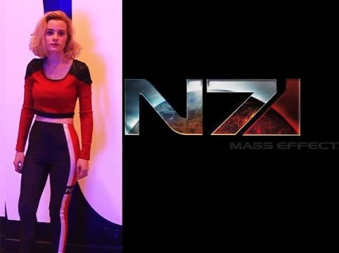 N7 inspired outfit cosplay mass effect