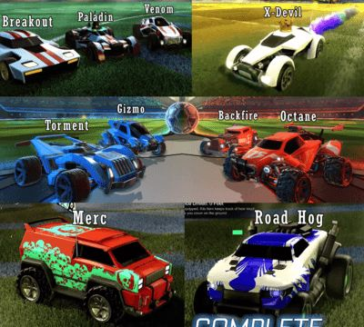 Rocket League List Of Paint Colors