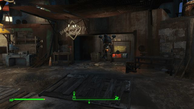 Fallout  Mod Build Outside Settlement