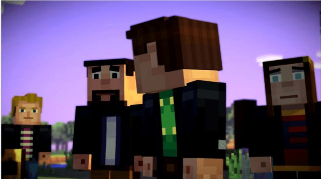 Minecraft Story Mode Guide Episode 1 Part One Minecraft
