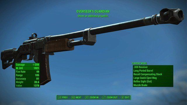 fallout 76 handmade rifle mods op weapons in my fallout 4 these weapons the others 4381