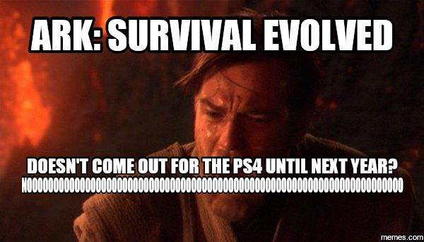 Funny Xbox Memes : Ark: survival evolved hits ps4 and xbox one june 2016 ark