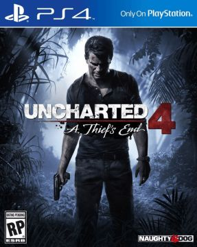 Cover Art for Uncharted 4