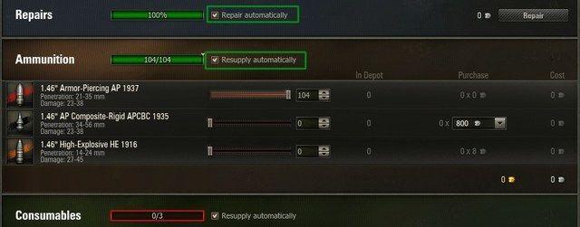 world of tanks guide repairs