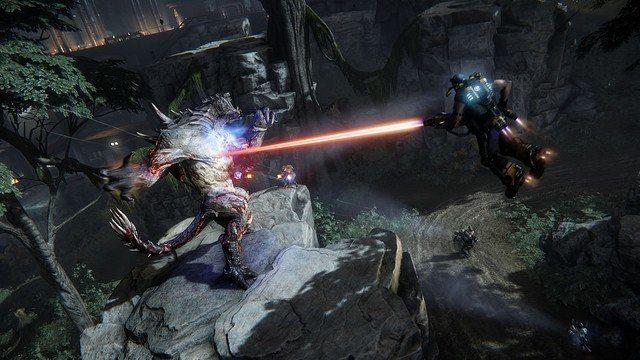 evolve game arena mode jetpack fight goliath monster